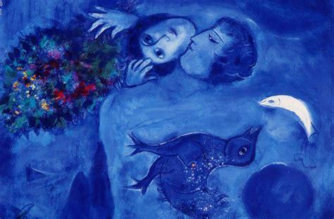 chagall, photo d'un couple utilisée pour décorer la page de therape de couple