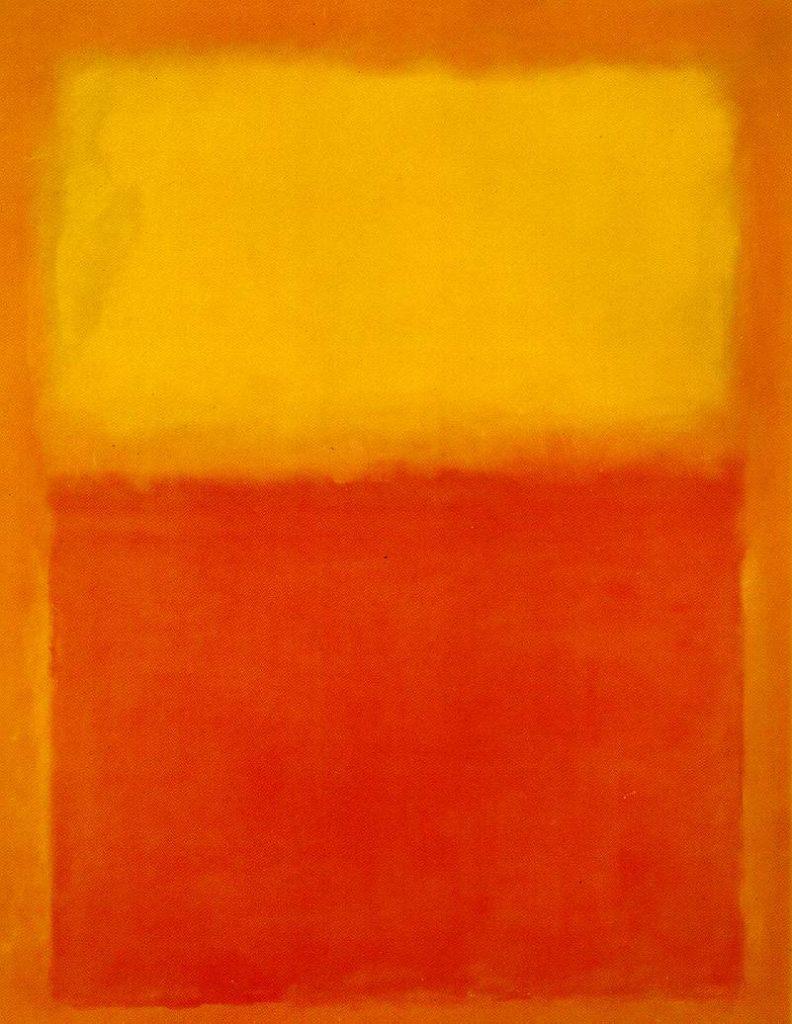 Photo d'oeuvre oeuvre de Rothko, décoration de la page d'accueil de Valérie Sauvaire psychanalyste